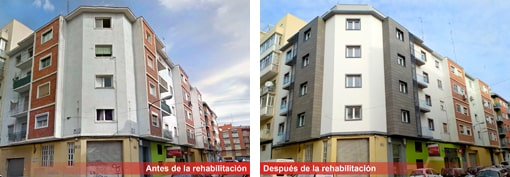 Rehabilitación edificio calle Santa Rosa